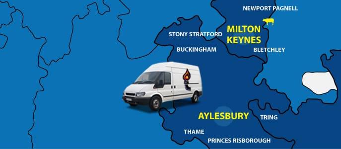 Covering Aylesbury, Thame, Tring and Princes Risborough